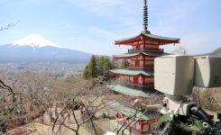 新倉山浅間公園NHK情報カメラ
