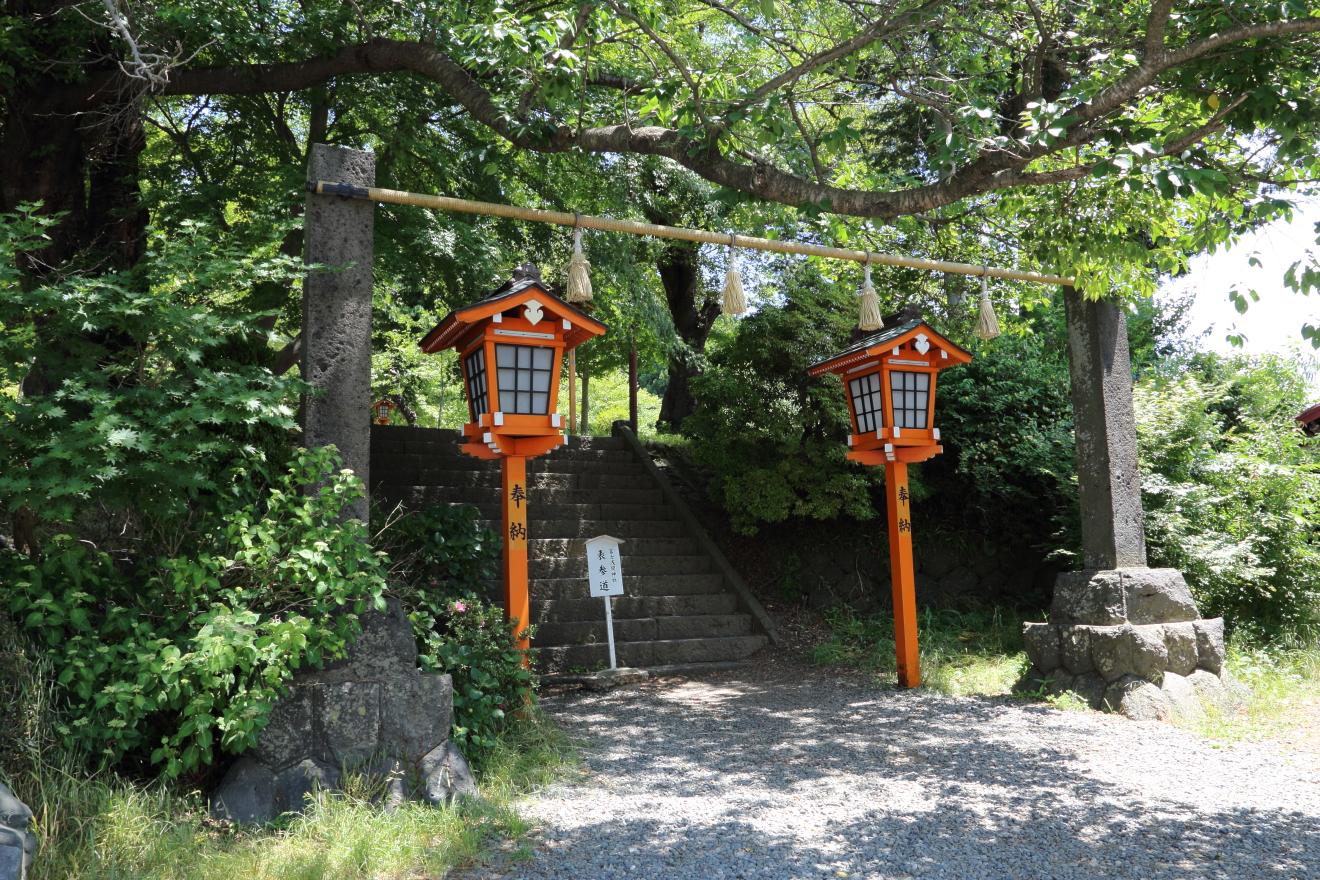 新倉富士浅間神社入口