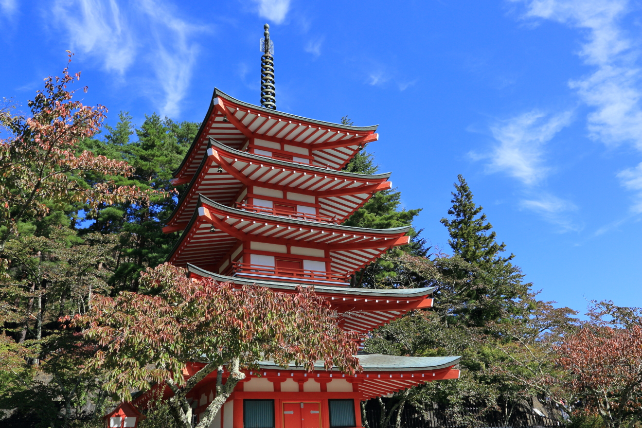 10月の忠霊塔