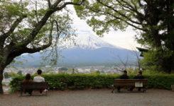新倉富士浅間神社からの富士山